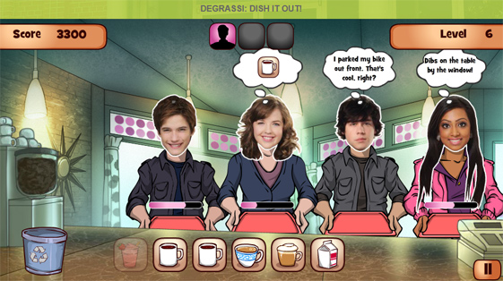 Degrassi: Dish It Out!